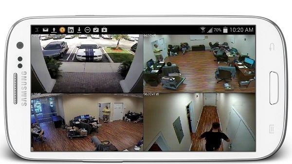 cctv camera smartphone app
