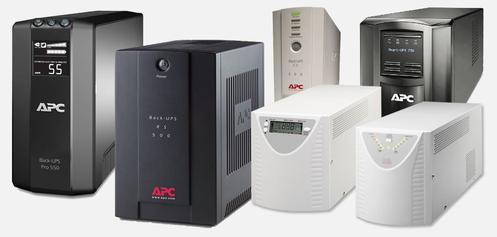 A range of UPS units available